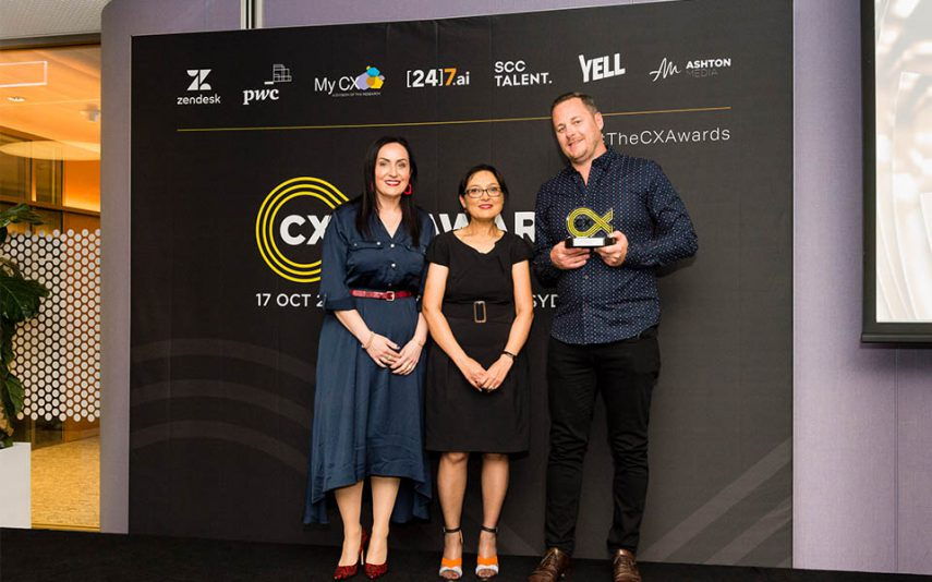 My CX was a proud sponsor at the 2019 CX Awards held in Sydney in October.
